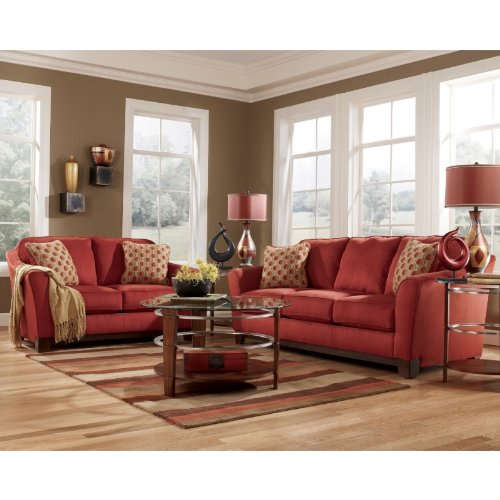 Buy Low Price AtHomeMart Berry Sofa and Loveseat Set (ASLY3640338_3640335_2PC)