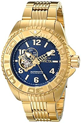 Invicta Men's 17461 Pro Diver Analog Display Japanese Automatic Gold Watch