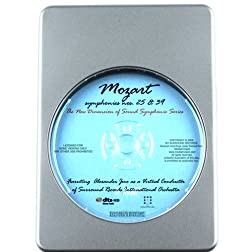 Mozart Favorites Simphonies Nos. 25&39 - 7.1 DTS-HD 3D Sound Blu-ray Audio Signature Series