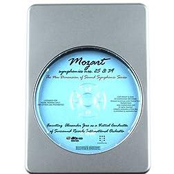 Mozart Favorites Simphonies Nos. 25&39 - 7.1 DTS-HD 3D Sound Blu-ray Audio Signature Series