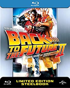 Back to The Future 2 - UK Exclusive Limited Anniversary Edition Steelbook Blu-ray- UK Limited Edition Steelbook Blu-ray 3000 made 30th Aniversary Edition Region free (Release 5th october)