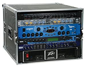 8 Space Amp Rack Case