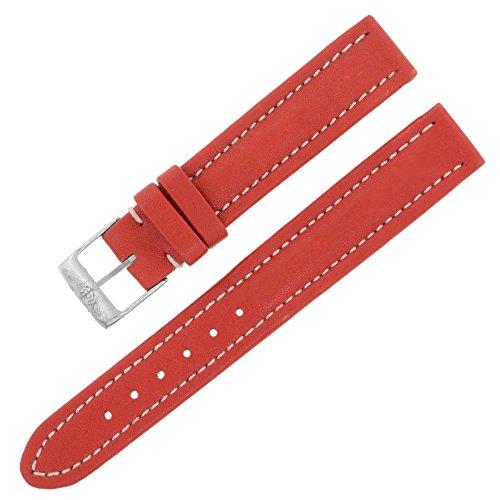 breitling-130-x-15-14-mm-in-vera-pelle-rosso-orologio-da-donna-band-w-fibbia