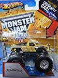 Hot Wheels Monster Jam Bulldozer - Includes Crushable Car - Max-D 1/64 Scale