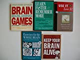 img - for Memory (5 Set) Brain Building Games; Learn Faster & Remember More; Use It or Lose It book / textbook / text book
