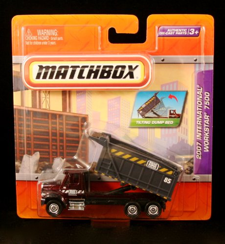 2007 INTERNATIONAL WORKSTAR 7500 Matchbox Real Working Rigs Die-Cast Vehicle * Real Working Parts * (Matchbox Cars Opening Doors compare prices)