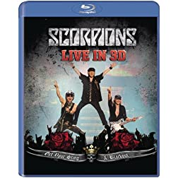 The Scorpions: Get Your Sting &amp; Blackout Live in 3D [Blu-ray]
