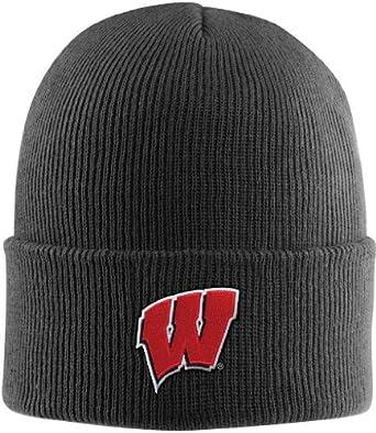 NCAA Wisconsin Badgers Acrylic Watch Hat, Black, One Size
