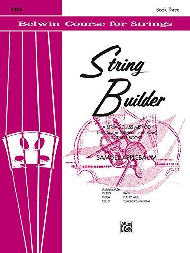 String Builder, Bk 3: Viola (Belwin Course for Strings)