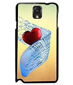 PRINTVISA Premium Metallic Insert Back Case Cover for Samsung Galaxy Note 3 - N7000 - D6029