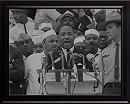 Martin Luther King I Have a Dream Quote 8x10 Framed Photograph