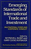 img - for Emerging Standards of International Trade and Investment: Multinational Codes and Corporate Conduct book / textbook / text book
