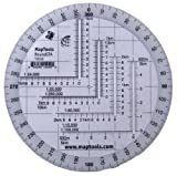 Map Tools Round Military UTM/MGRS Grid Reader & Protractor