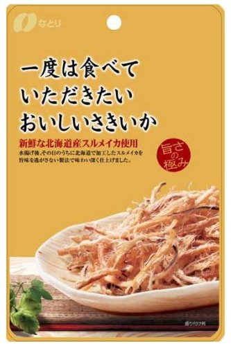 なとり 一度は食べていただきたいおいしいさきいか 46g×5袋