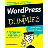 WordPress For Dummies (For Dummies (Computers)) ~ Lisa Sabin-Wilson