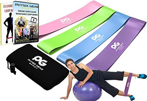 Bandas de resistencia para casa, gimnasio, Fitness completo cuerpo ejercicios y terapia física-free ukdirectbuy-mejor Mini lazo banda estiramiento Potencia y fuerza - la luz gimnasio equipamiento para un viaje de cuerpo completo funciona en cualquier lugar. Compre ahora! multicolor Pink Purple Blue Talla:12inx3in