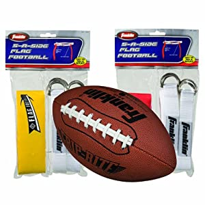 Franklin Sports Junior Flag Football Set