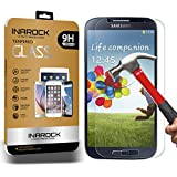 Galaxy S4 Screen Protector, InaRock Premium 9H Tempered Glass Screen Protector for Samsung Galaxy S4 I337 I545 M919 I9500 L720, Anti-scratch Oleophobic ,Anti Shatter ,0.26mm Ultra Slim