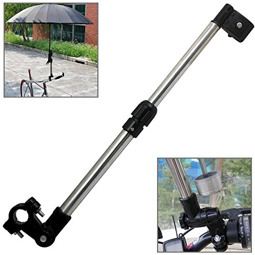 Bicycle Mount Holder Linkertech Umbrella Bar Wheelchair Baby Chair Bike Frame