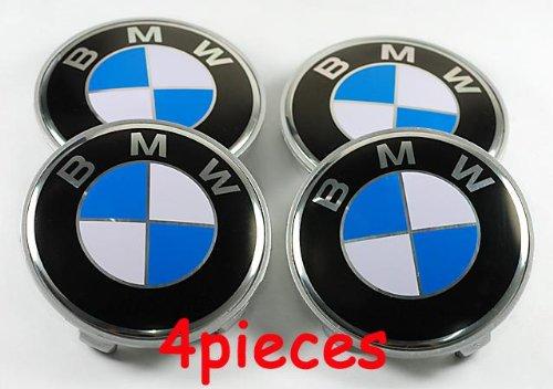 4PCS BMW Wheel Center Cap 68mm E36 E39 E46 E60 E90 M3 X5 Z4 (Bmw E46 Rims compare prices)