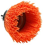 Dico 541-780-21/2 Nyalox Cup Brush 21/2-Inch Orange 120 Grit