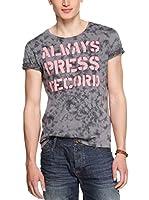 QS by s.Oliver Camiseta Manga Corta (Gris)