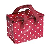 Spotty Red Insulated Lunch Bag