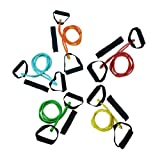Yes4All Premium X-Safe Resistance Band w/ snap-block technology (WHILE OTHER UNSAFE DESIGN WILL HURT YOU) 10, 15, 20, 25, 30, 40, 45, and 60 lbs single & set - Special Promotion