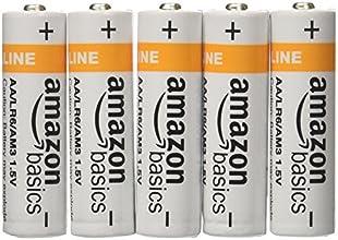 AmazonBasics - Pilas alcalinas AA (Paquete de 20)