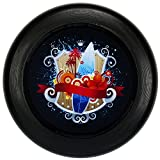 Eurodisc 175g 4.0 ORGANIC Ultimate Frisbee Competition Disc Fotoprint BLACK SURF