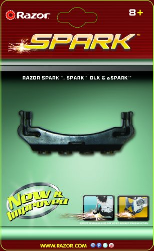 Razor Spark Replacement Cartridge, Black, 2 Pack