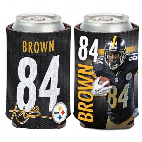 Wincraft Pittsburgh Steelers Antonio Brown Can Cooler from SteelerMania