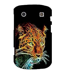 printtech Tiger Back Case Cover for BlackBerry Bold Touch 9900 :: BlackBerry Dakota :: BlackBerry Magnum