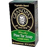 Grandpas Soap Pine Tar Bar Soap 3.25 Oz Case Pack Of 25