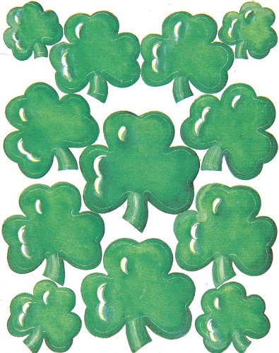 Eureka Shamrock Stickers - 1