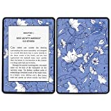 Diabloskinz Vinyl Adhesive Skin Decal Sticker for Amazon Kindle Paperwhite - Violet Flower