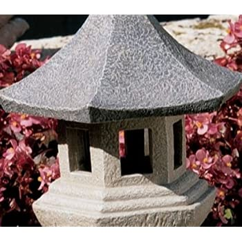Pagoda Lantern statue home asian oriental sculpture LG (The Digital Angel)