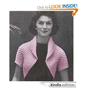 Simple Shrug Knitting Pattern Vintage Knit Bolero - Kindle edition by