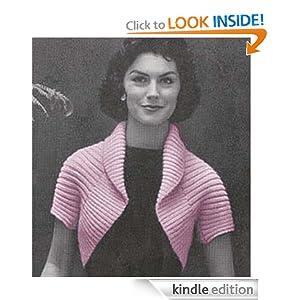 Diamond Bolero Pattern | Knitting Patterns