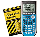 Texas Instruments TI-84 Plus Silver Edition with CliffsNotes - Bright Blue