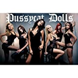 Pussycat Dolls (Group in Black) Music Poster Print