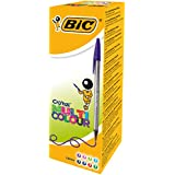 Bic Cristal Multicolor 926381 Stylo-bille non rétractable Couleurs classiques