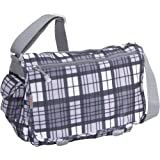J World New York Terry Messenger (Tartan Grey)
