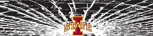 Iowa State Cyclones Shattered Auto Visor Decal