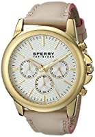 Sperry Top-Sider Men's 10015149 Halyard Analog Display Japanese Quartz Beige Watch by Sperry Top-Sider Watches MFG Code