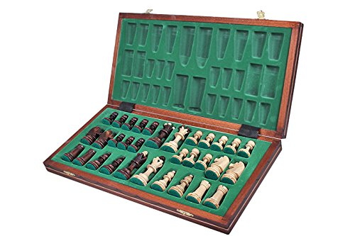 The Zaria - Unique Wood Chess Set, Pieces, Chess Board & Storage 6
