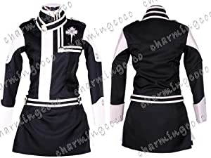 D.Gray-Man Lenalee Lee Cosplay Costume Uniform Skirt (Female S)