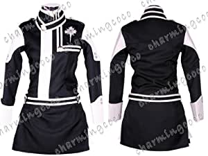 D.Gray-Man Lenalee Lee Cosplay Costume Uniform Skirt (Female M)
