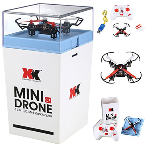 Quadpro Nc5 Nano Quadcopter 360 Degree Flip Mini Drone (Black/red)