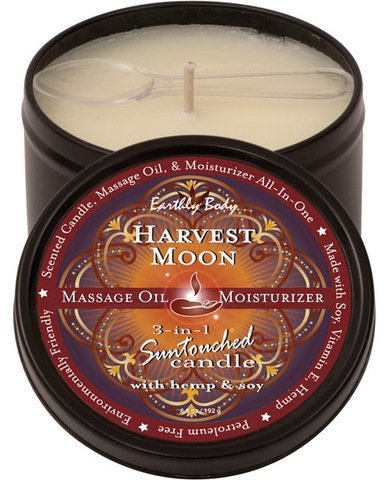 Candle 3 In 1 Harvest Moon Black Tin